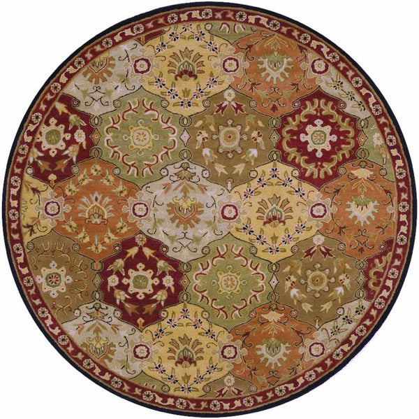 Hinton Traditional Camel Area Rug