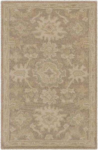 Marseille Traditional Camel Area Rug