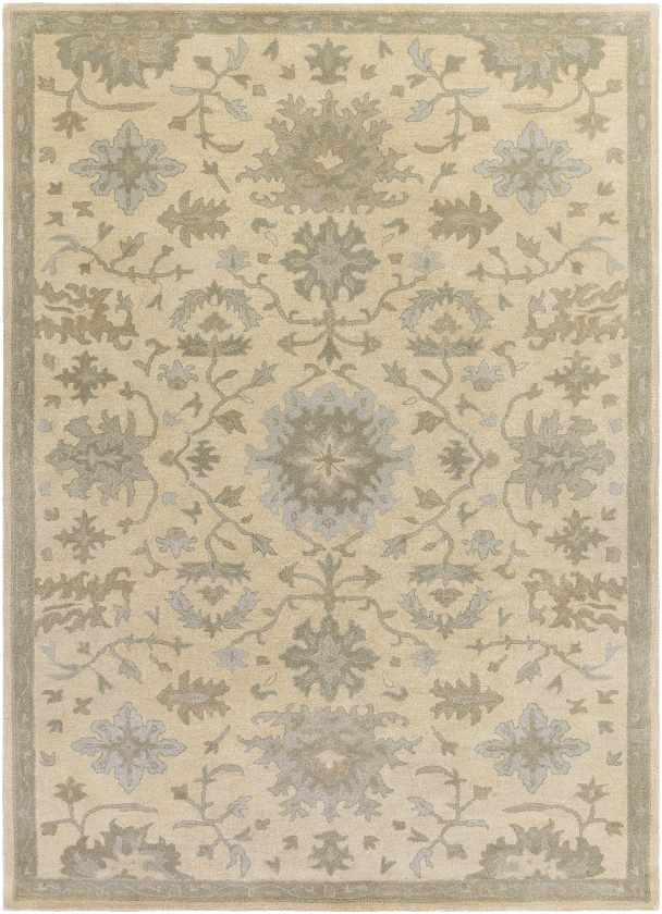 Marseille Traditional Beige Area Rug