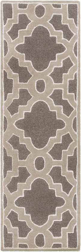 Aveyron Transitional Medium Gray Area Rug