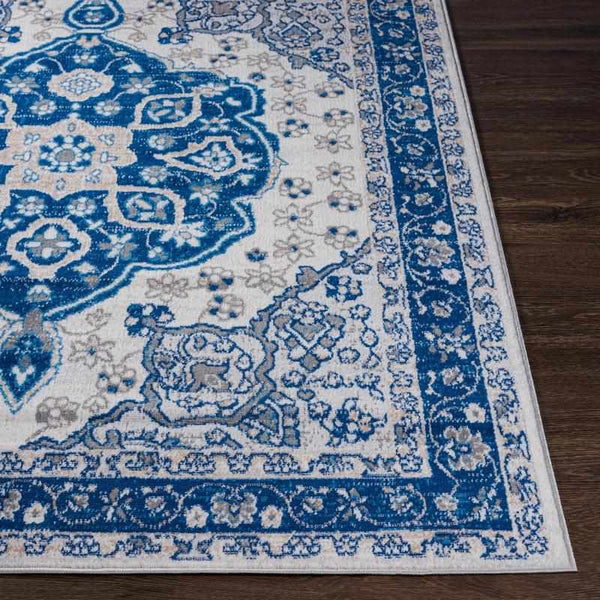 Biesthoek Traditional Blue Area Rug