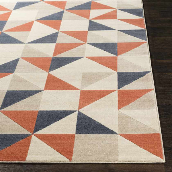 Watrous Modern Coral Area Rug