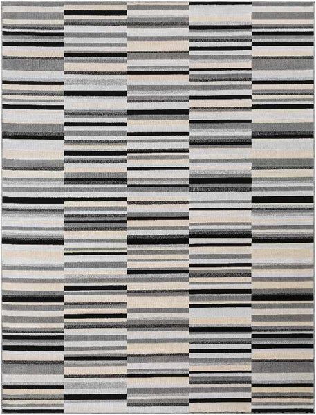 Wawota Modern Light Gray Area Rug