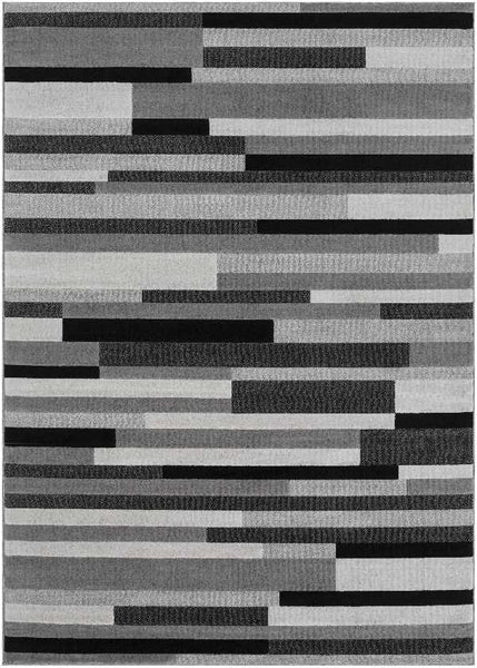 Wilkie Modern Light Gray Area Rug