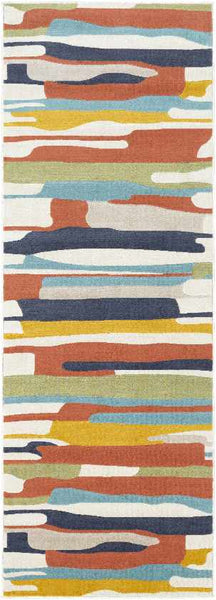 Lorient Modern Coral Area Rug