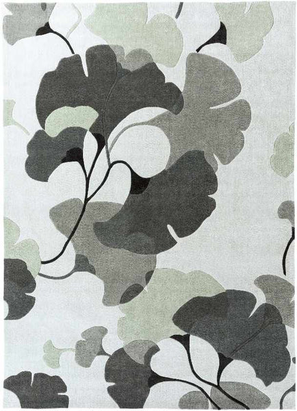 Smithers Transitional Medium Gray Area Rug