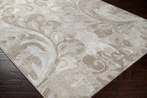 Okotoks Transitional Ivory Area Rug