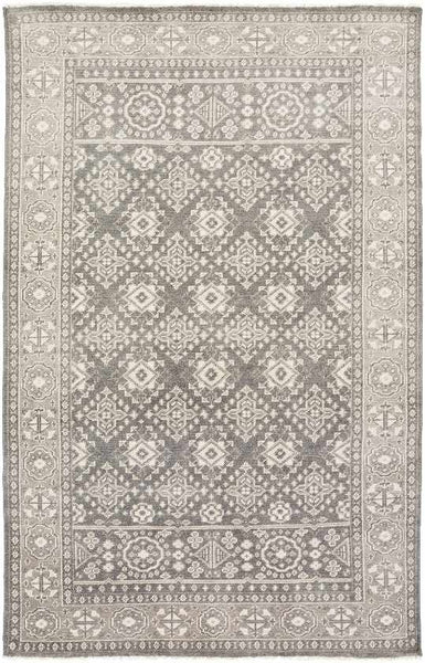 Minitonas Traditional Medium Gray Area Rug