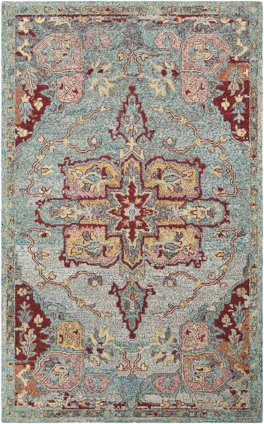 Biarritz Updated Traditional Emerald Area Rug