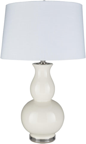 Worgl Traditional Cream Table Lamp