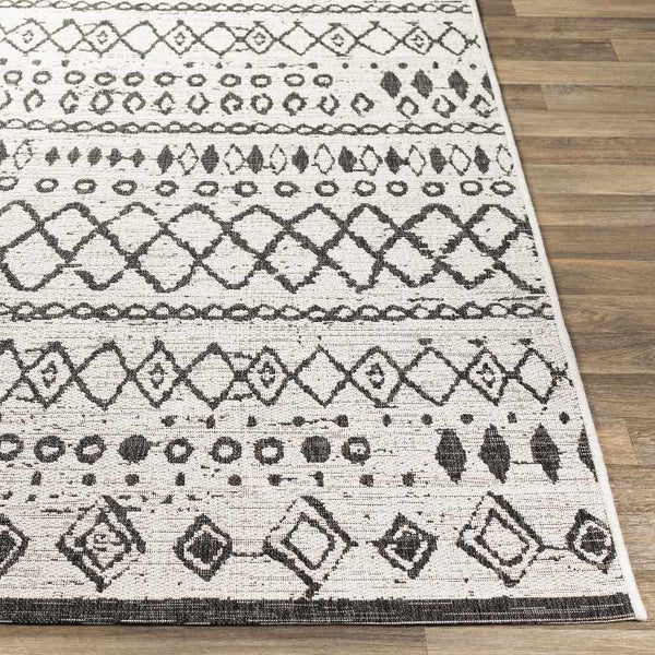 Meppen Bohemian/Global White Area Rug