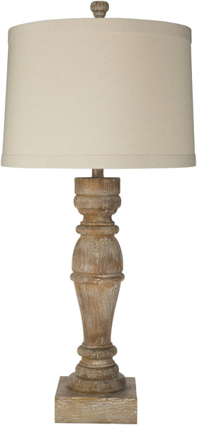 Zwettl Traditional Ivory Table Lamp