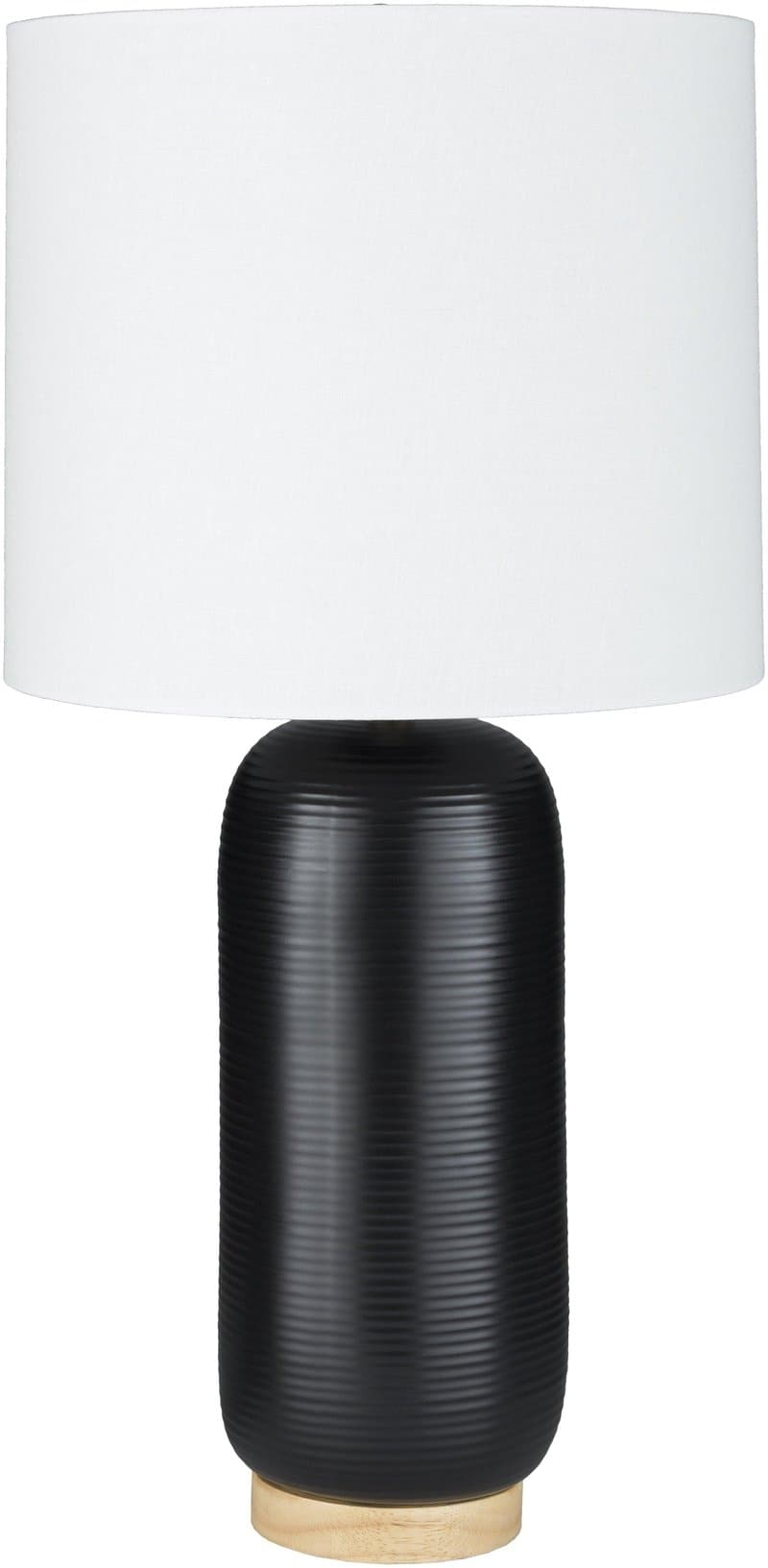 Bregenz Traditional Black Table Lamp