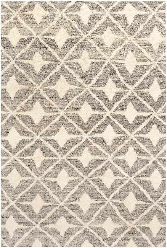 Mauve Bohemian/Global Taupe Area Rug