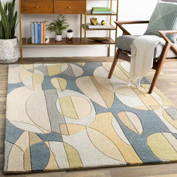 Chipman Modern Denim Area Rug
