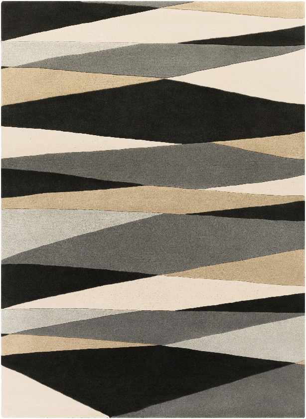 Mulhouse Modern Black Area Rug