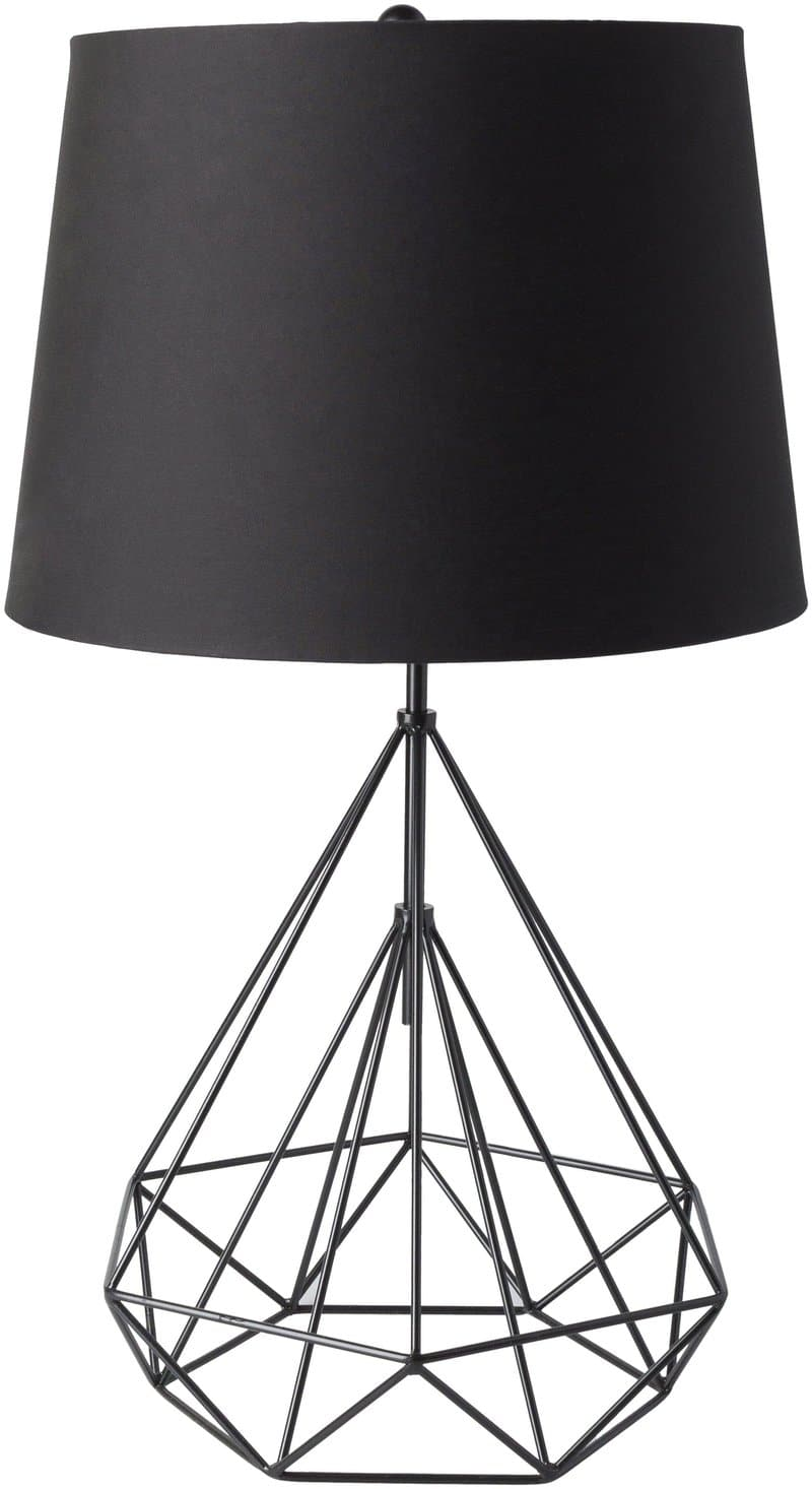 Ballsh Modern Black Table Lamp