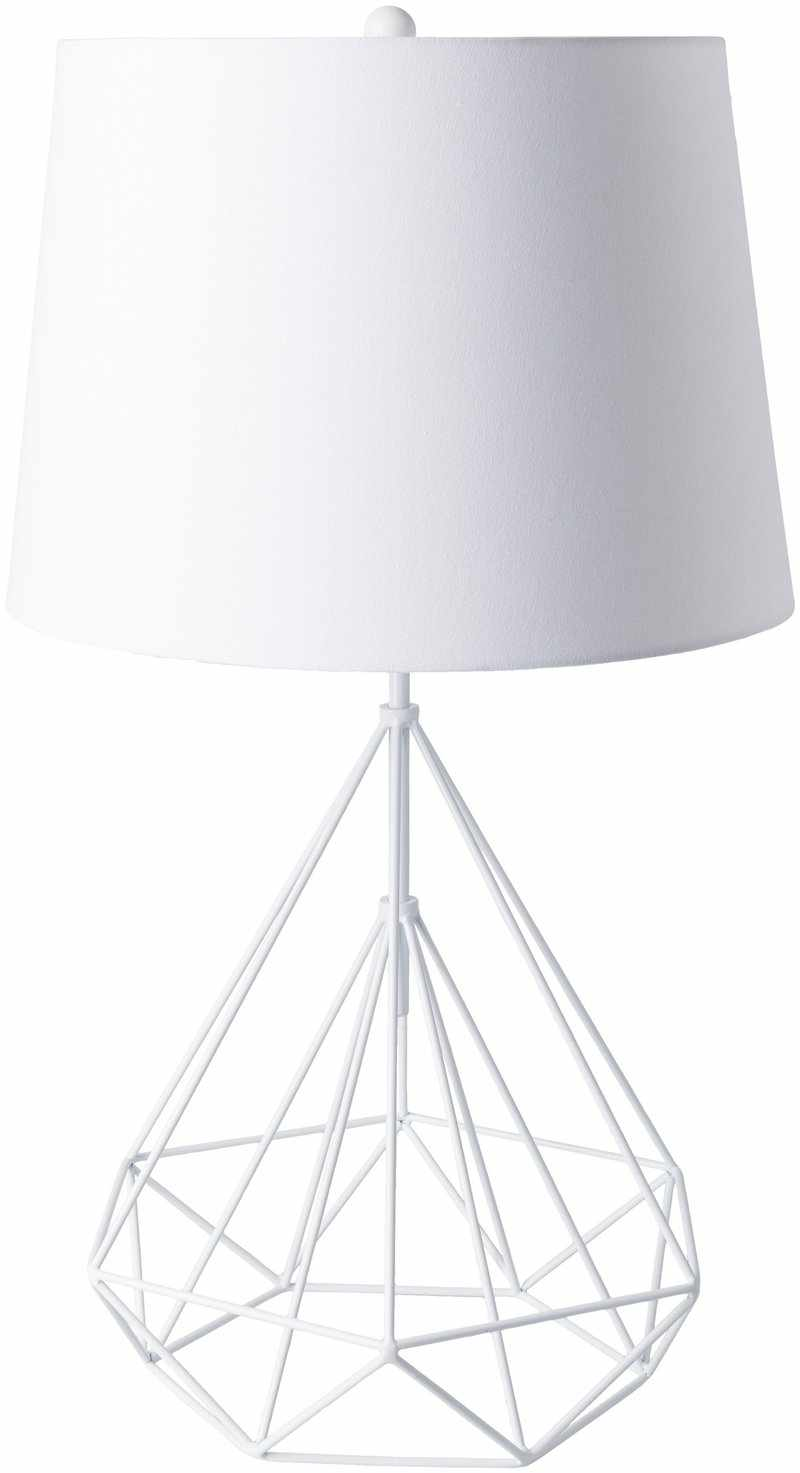 Ballsh Modern White Table Lamp