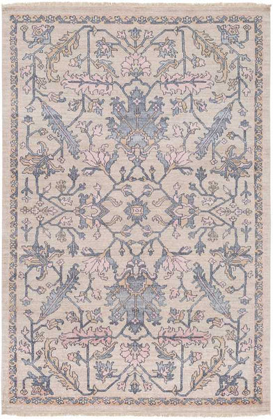 Cranbrook Traditional Charcoal Area Rug