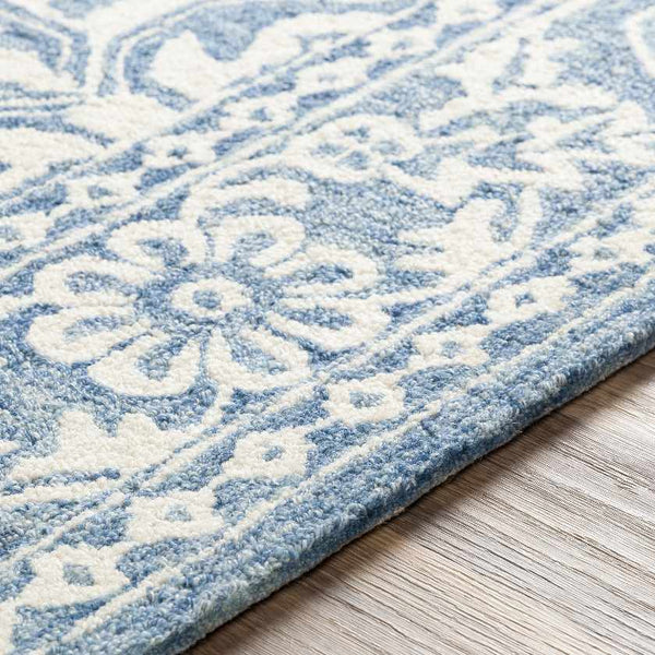 Lecce Global Pale Blue Area Rug