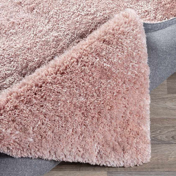 Cambrai Shag Pale Pink Area Rug