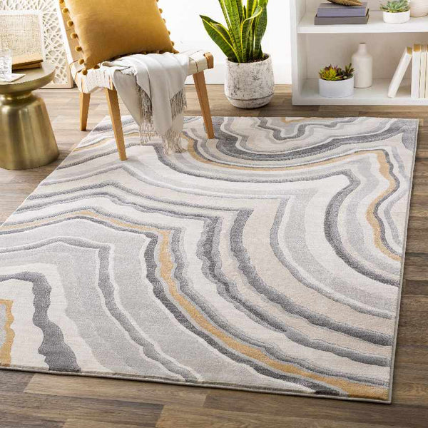Brackley Modern Denim Area Rug