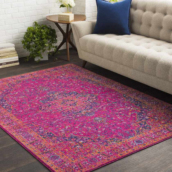 Appleton Updated Traditional Garnet Area Rug