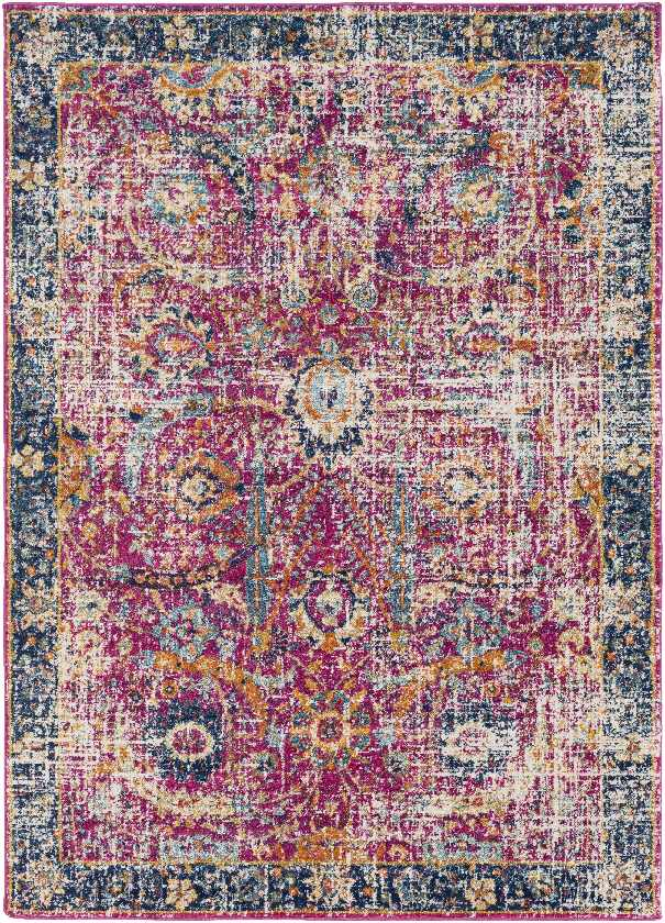 Isabella Updated Traditional Garnet Area Rug