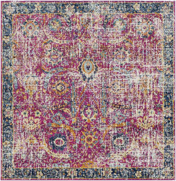 Isabella Traditional Area Rug, Plum