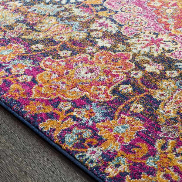 Point May Updated Traditional Garnet Area Rug
