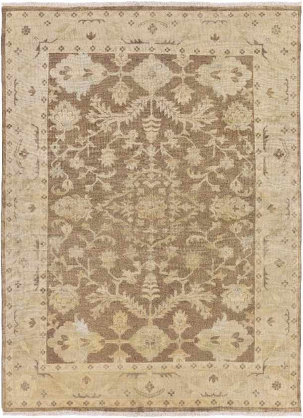 Bourges Traditional Cream Area Rug