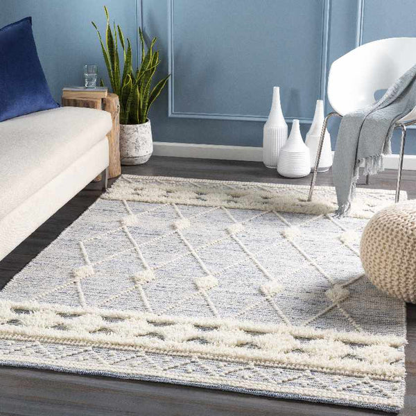 Longridge Global Navy Area Rug