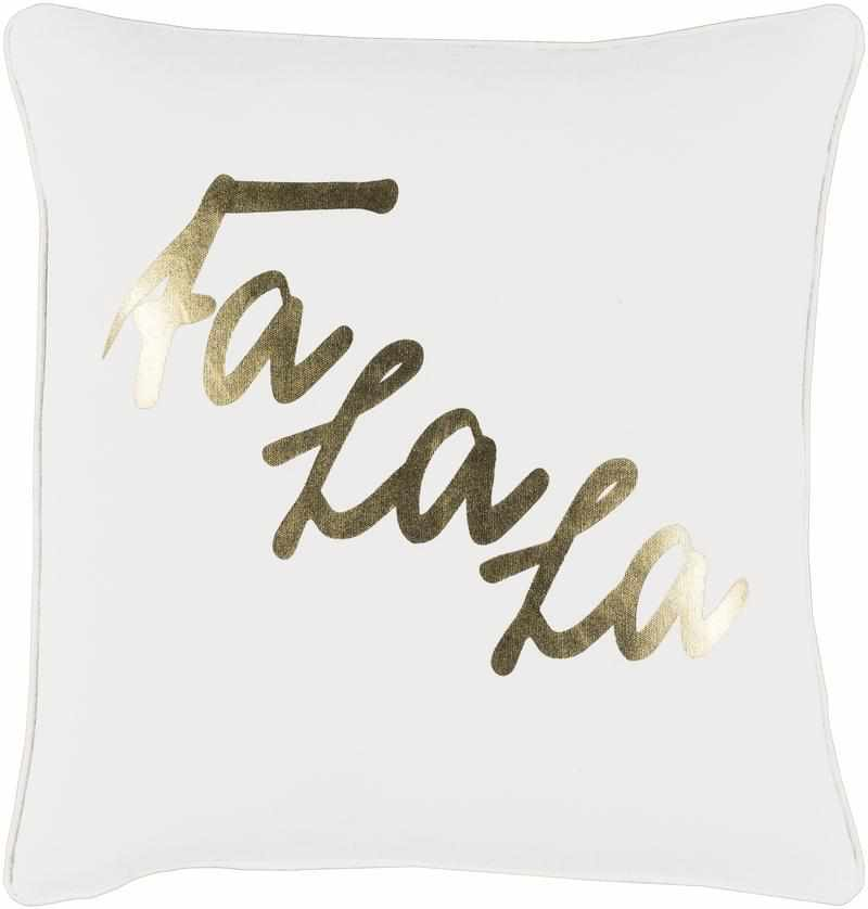 Wasseiges Ivory Pillow Cover