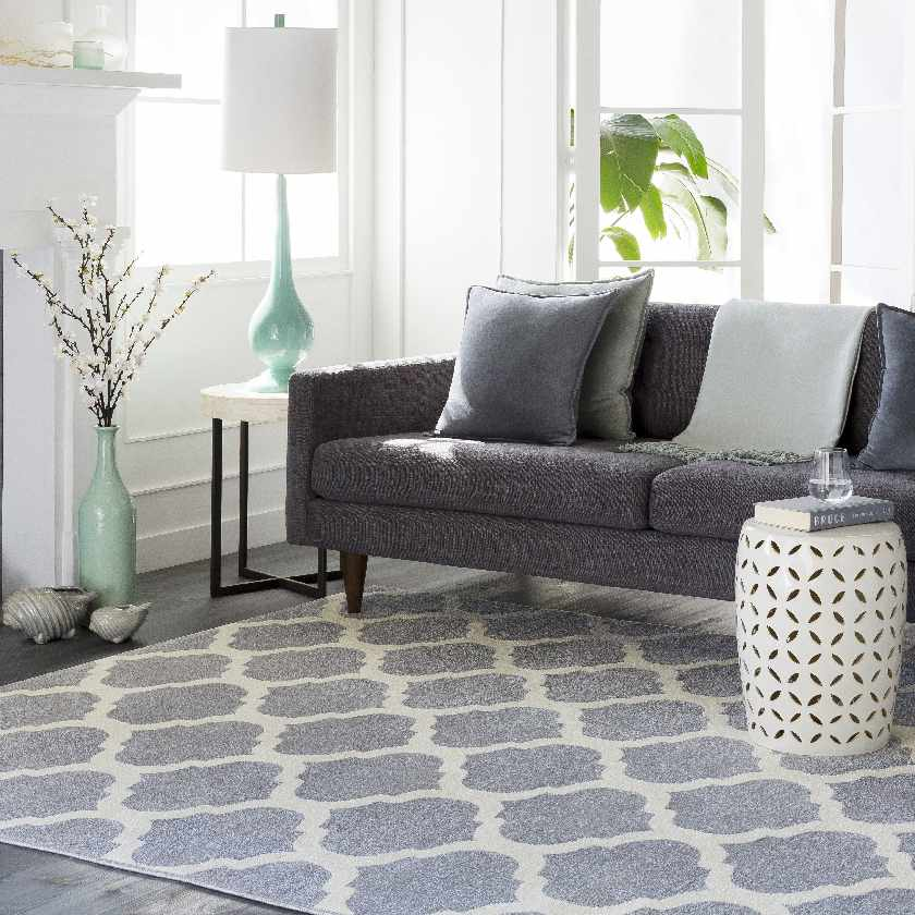 Emerson Transitional Medium Gray Area Rug