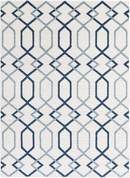 Torcy Transitional Navy Area Rug