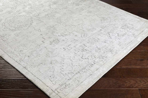 Sidmouth Traditional White Area Rug