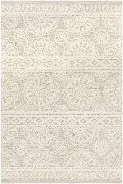 Newmarket Traditional Light Gray Area Rug