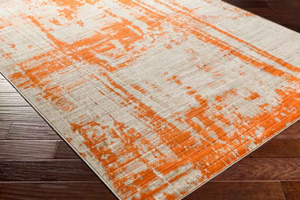 Evreux Modern Orange Area Rug