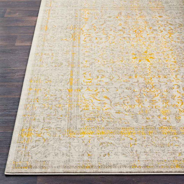 Colliers Updated Traditional Mustard Area Rug