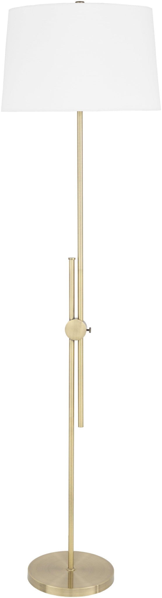 Lackendorf Modern White Floor Lamp
