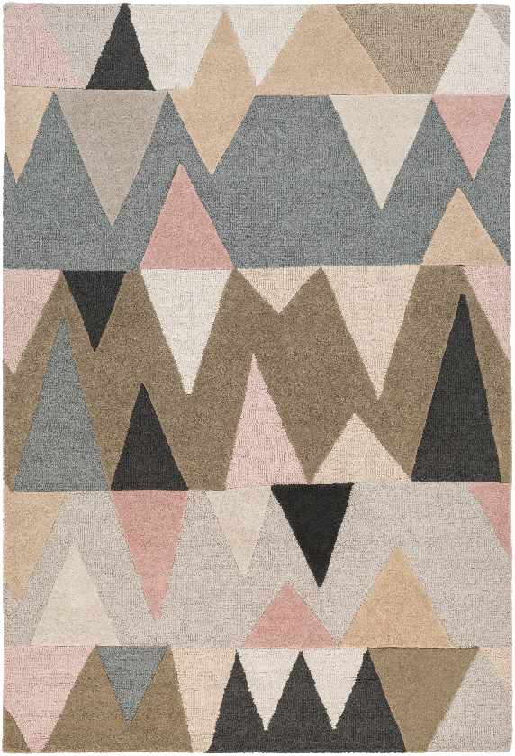 Begles Modern Pale Pink Area Rug