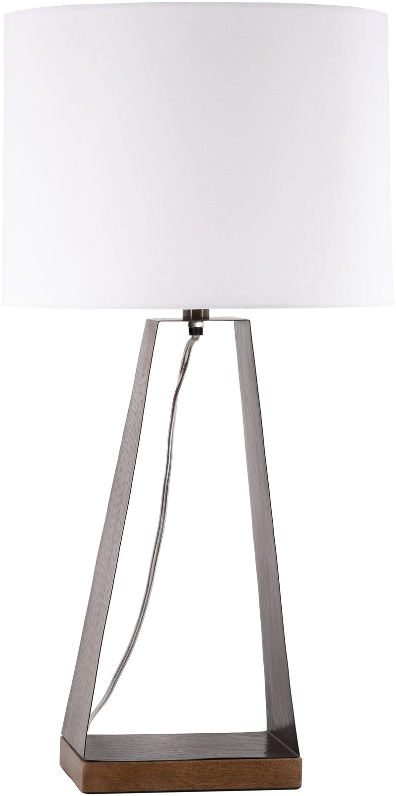 Pamhagen Modern White Table Lamp