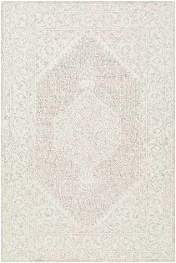 Tynaarlo Updated Traditional Taupe Area Rug