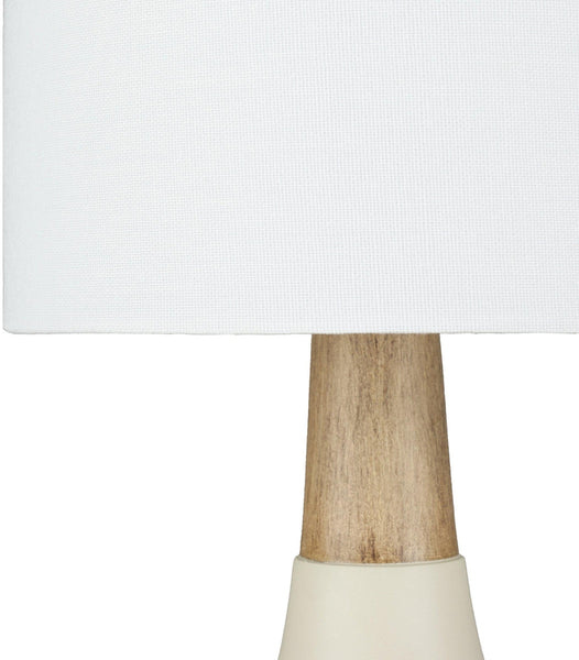 Poysdorf Modern Ivory Table Lamp