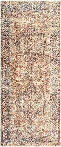 Brindisi Traditional Navy Area Rug