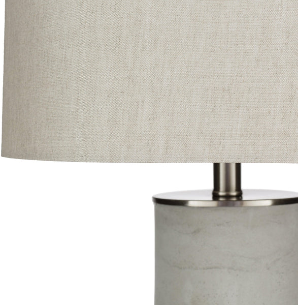 Linz Traditional Light Gray Table Lamp