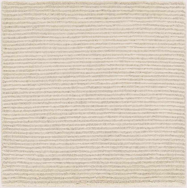 Montrose Solid and Border Butter Area Rug