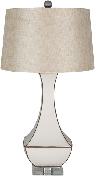 Fischer Traditional Khaki Table Lamp