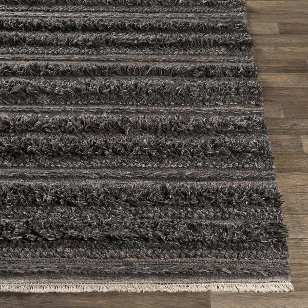 Padstow Bohemian/Global Charcoal Area Rug