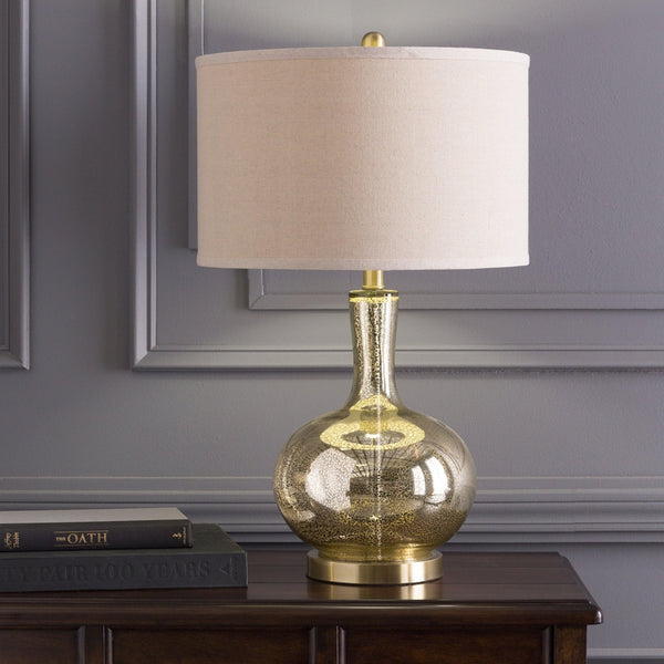 Heilig Traditional Ivory Table Lamp